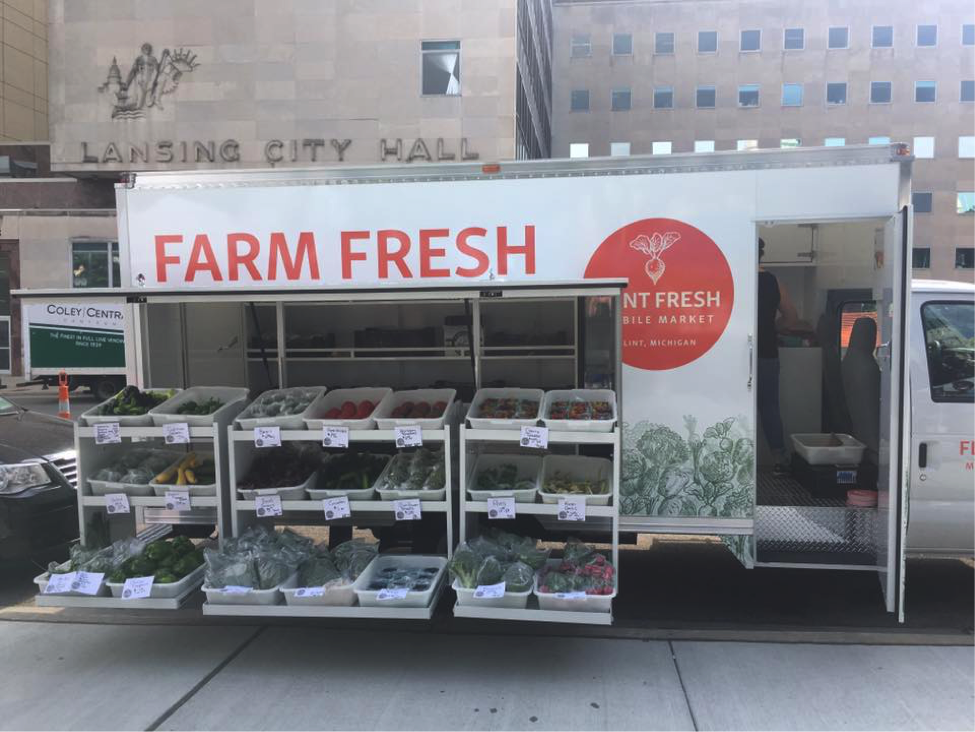 Flint Fresh mobile market